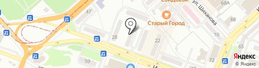 Семейный на карте Комсомольска-на-Амуре