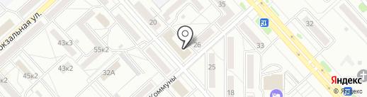 Центр оперативной полиграфии на карте Комсомольска-на-Амуре
