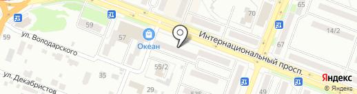 РАЙТЛЕКС-ФИНАНС на карте Комсомольска-на-Амуре