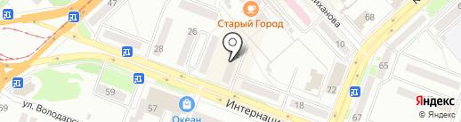 ПИВКОff на карте Комсомольска-на-Амуре