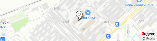 Motor на карте Комсомольска-на-Амуре