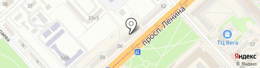 Art Shop на карте Комсомольска-на-Амуре