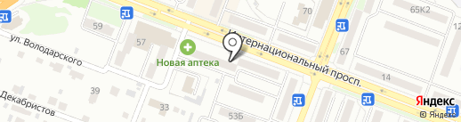Деточки`н на карте Комсомольска-на-Амуре