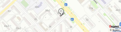 Объектив на карте Комсомольска-на-Амуре