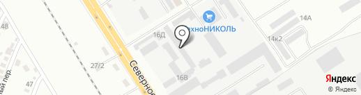 Тойота Центр на карте Комсомольска-на-Амуре