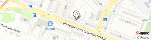 Sense на карте Комсомольска-на-Амуре