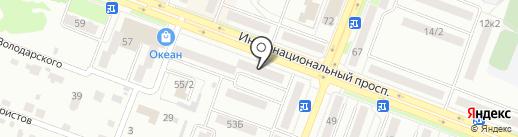 ВОСТОЧНЫЙ ЭКСПРЕСС БАНК на карте Комсомольска-на-Амуре