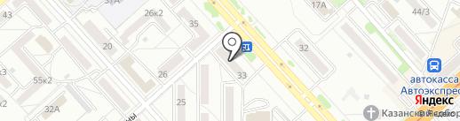 Диваны по карману на карте Комсомольска-на-Амуре