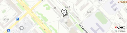 АФИНА на карте Комсомольска-на-Амуре