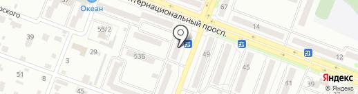 Народные Займы на карте Комсомольска-на-Амуре