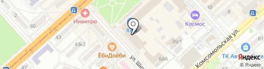 Shara на карте Комсомольска-на-Амуре