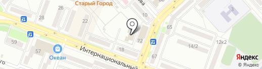 Подарки на карте Комсомольска-на-Амуре