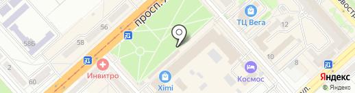 Энергия Природы на карте Комсомольска-на-Амуре