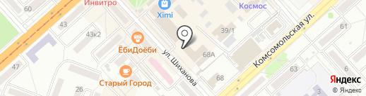 Сапфир на карте Комсомольска-на-Амуре