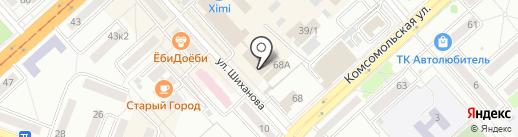 ПАР на карте Комсомольска-на-Амуре