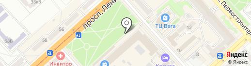 ЗОЛОТОЙ ТЕЛЕЦ на карте Комсомольска-на-Амуре