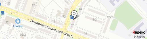 Клёвый на карте Комсомольска-на-Амуре