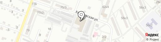 ЖелдорАльянс на карте Комсомольска-на-Амуре