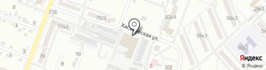 АВТОКОМСЕРВИС на карте Комсомольска-на-Амуре