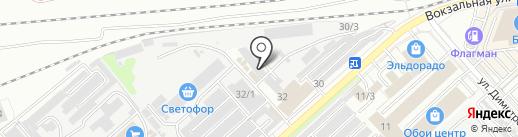 Компания по реставрации ванн на карте Комсомольска-на-Амуре