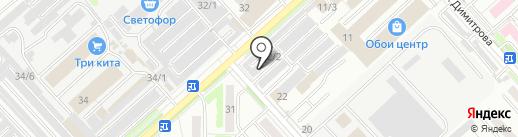 Авто Сити на карте Комсомольска-на-Амуре
