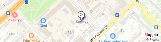 Шаверма-донер кебаб на карте Комсомольска-на-Амуре