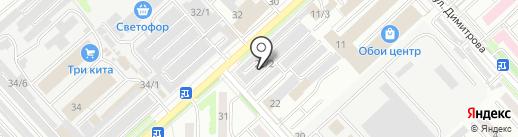 Клининговая компания на карте Комсомольска-на-Амуре