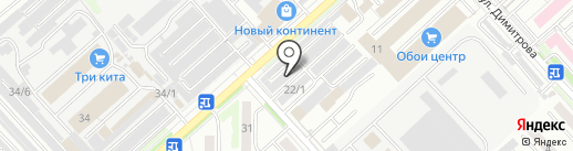 Louis de Fleur на карте Комсомольска-на-Амуре