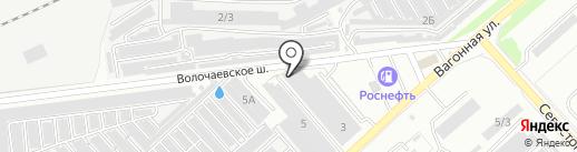 Автообраз на карте Комсомольска-на-Амуре
