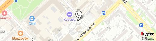 Гламурный магазинчик на карте Комсомольска-на-Амуре