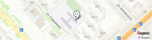 РФЭИ на карте Комсомольска-на-Амуре