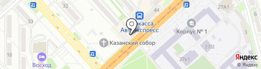 Радуга Украшений на карте Комсомольска-на-Амуре