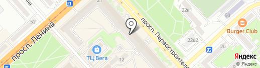 Капитал-Экспресс на карте Комсомольска-на-Амуре