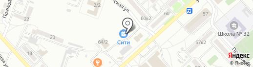 Варвар на карте Комсомольска-на-Амуре
