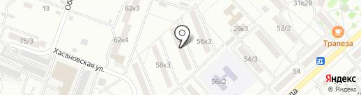 ВИП пост на карте Комсомольска-на-Амуре