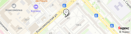 Автостиль на карте Комсомольска-на-Амуре