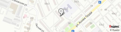 Золотая камея на карте Комсомольска-на-Амуре