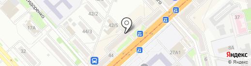 Дальавтотранс на карте Комсомольска-на-Амуре