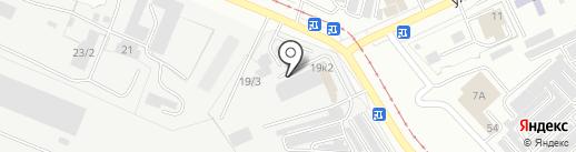 Магазин строительных материалов на карте Комсомольска-на-Амуре