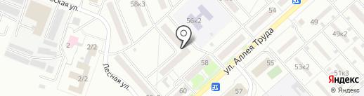 Барыня на карте Комсомольска-на-Амуре