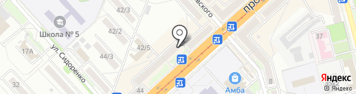 Домашняя Аптека на карте Комсомольска-на-Амуре