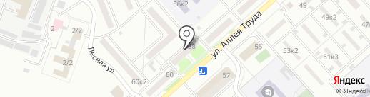 Ерофей на карте Комсомольска-на-Амуре