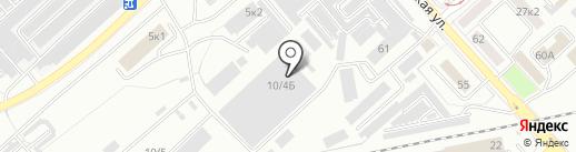Эником Невада групп на карте Комсомольска-на-Амуре