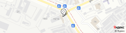 Стройсталь, ЗАО на карте Комсомольска-на-Амуре