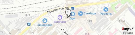 Sweet Mix на карте Комсомольска-на-Амуре