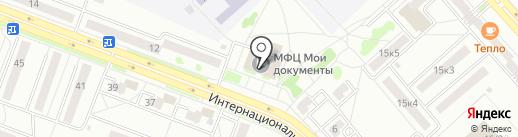 Управление информатизации на карте Комсомольска-на-Амуре
