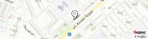 Магазин сумок и кожгалантереи на карте Комсомольска-на-Амуре