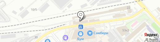 Шины-центр на карте Комсомольска-на-Амуре