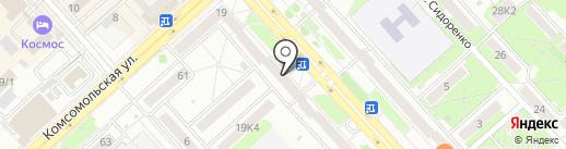 МТС-Банк на карте Комсомольска-на-Амуре