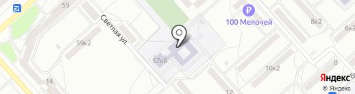 Средняя общеобразовательная школа №36 на карте Комсомольска-на-Амуре